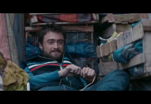 Daniel Radcliffe in Jungle, fonte screenshot youtube