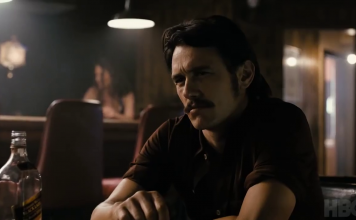 James Franco in The Deuce, fonte screenshot youtube