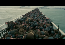 Dunkirk di Chrisopher Nolan, fonte screenshot youtube