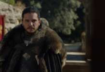 Jon Snow (Kit Harington), Game of Thrones, fonte screenshot youtube